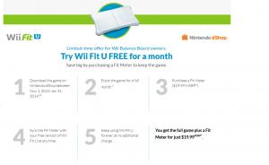 Wii Fit U deal