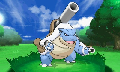 Blastoise with a third cannon? I'll take six.