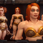 New Female Drawf Model