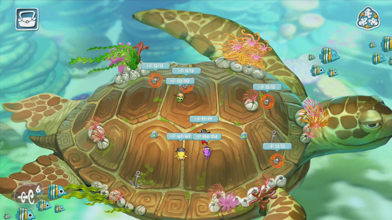 Squids Odyssey 3ds Wii U