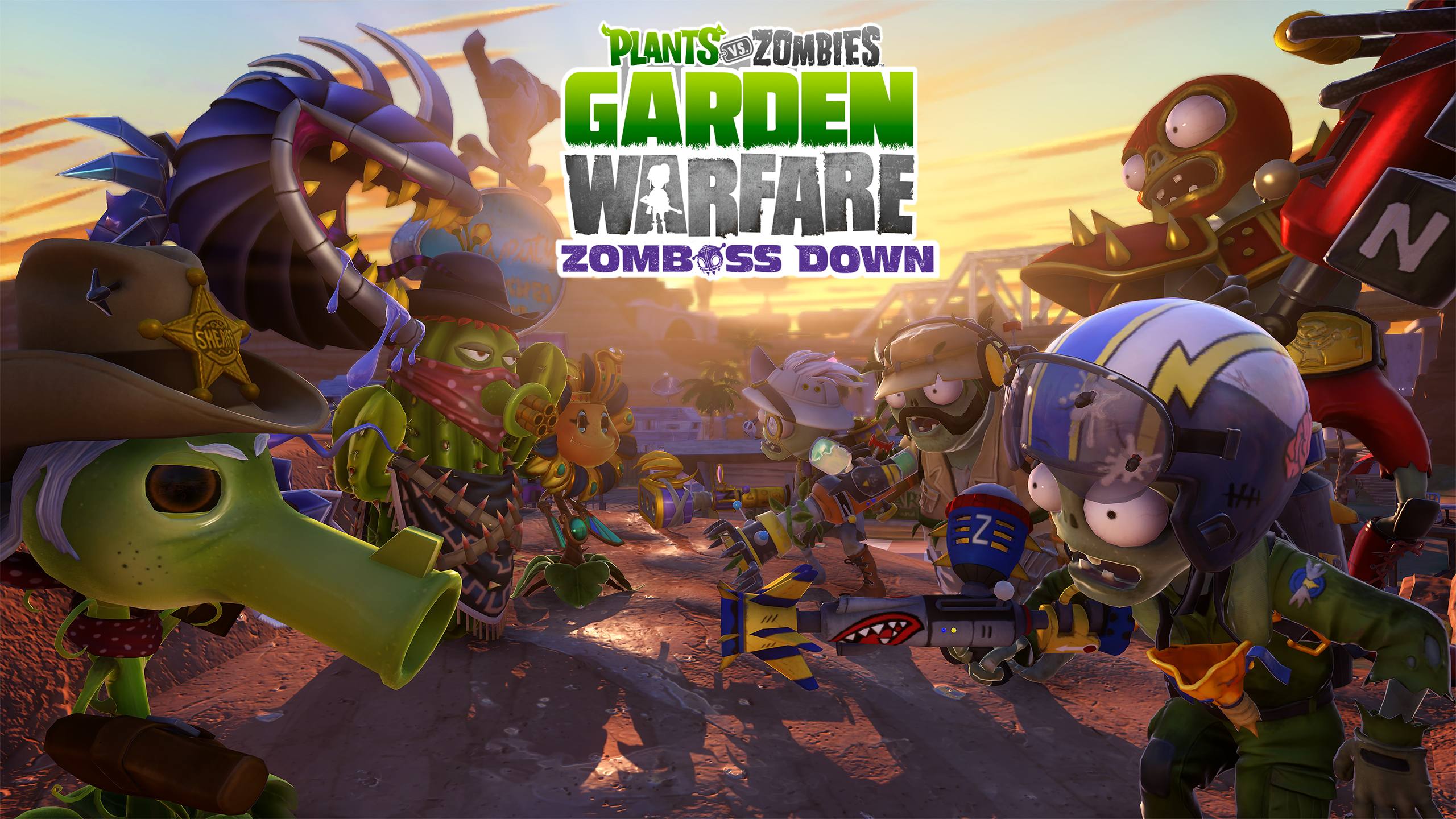 Plants Vs. Zombies: Garden Warfare Zomboss Down DLC Sprouts Up Today