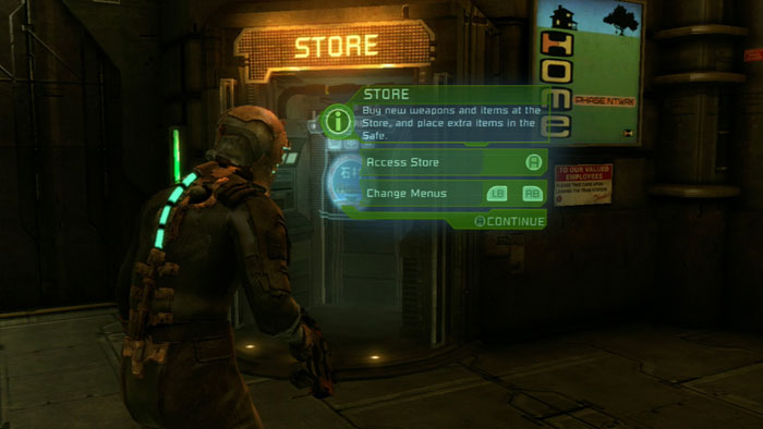 dead space store