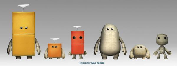 little big planet, thomas was alone