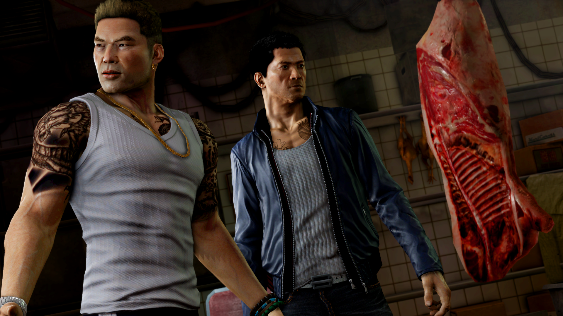 Goodie Monster Achievement in Sleeping Dogs: Definitive