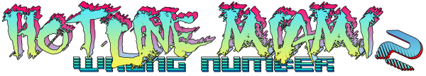 Hotline Miami 2 Logo - High