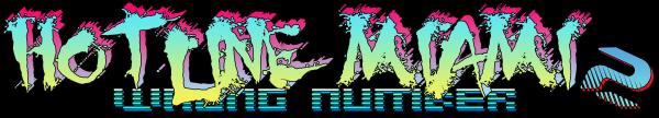 Hotline Miami 2 Logo - High