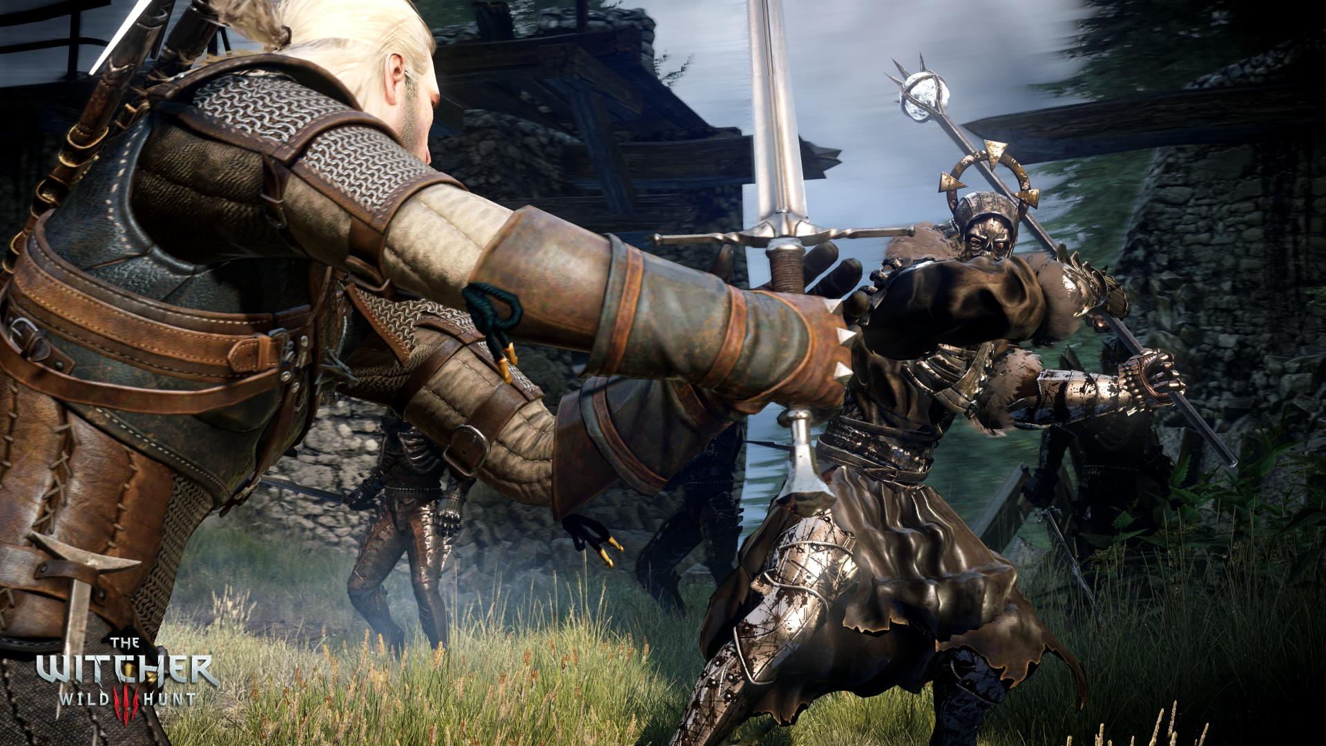The_Witcher_3_Wild_Hunt_Geralt_battling_a_general_of_the_Hunt_3