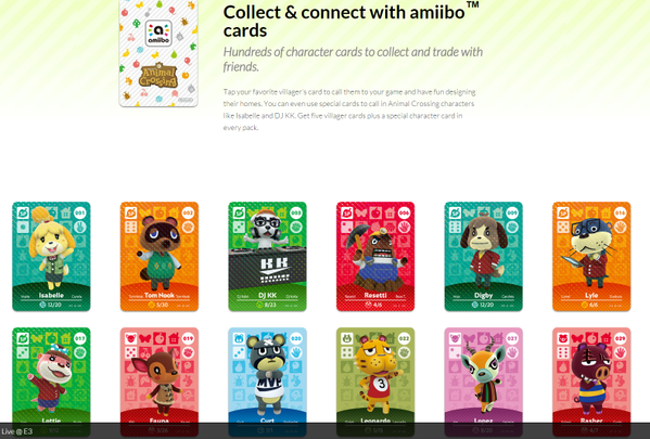 Hundreds of New Animal Crossing Amiibo Cards Revealed - Hey Poor Player Hey Poor Player