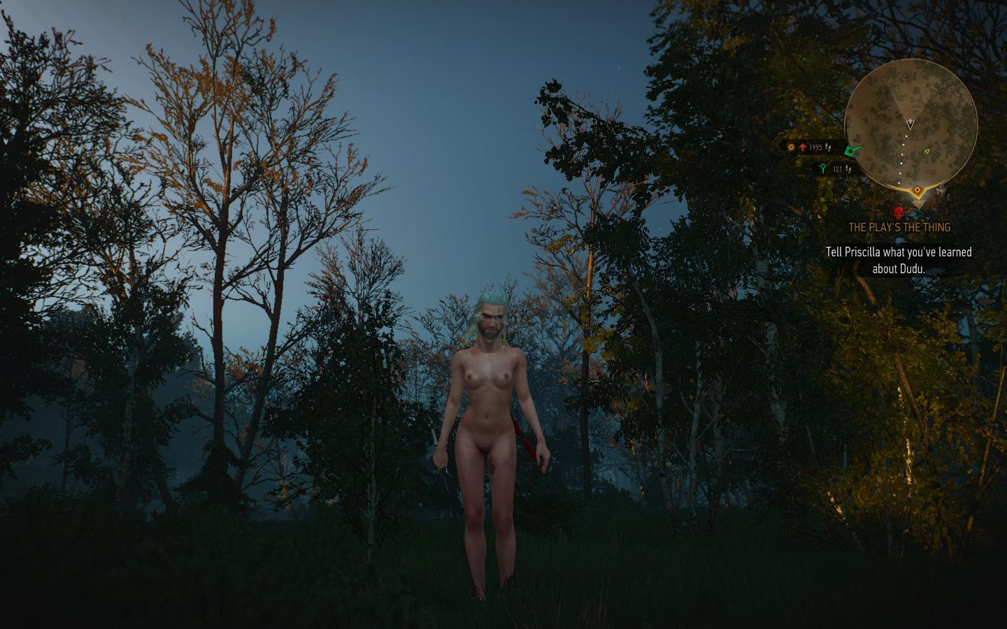 This Witcher 3 Gender-Bending Glitch Will Haunt Your Dreams (Very