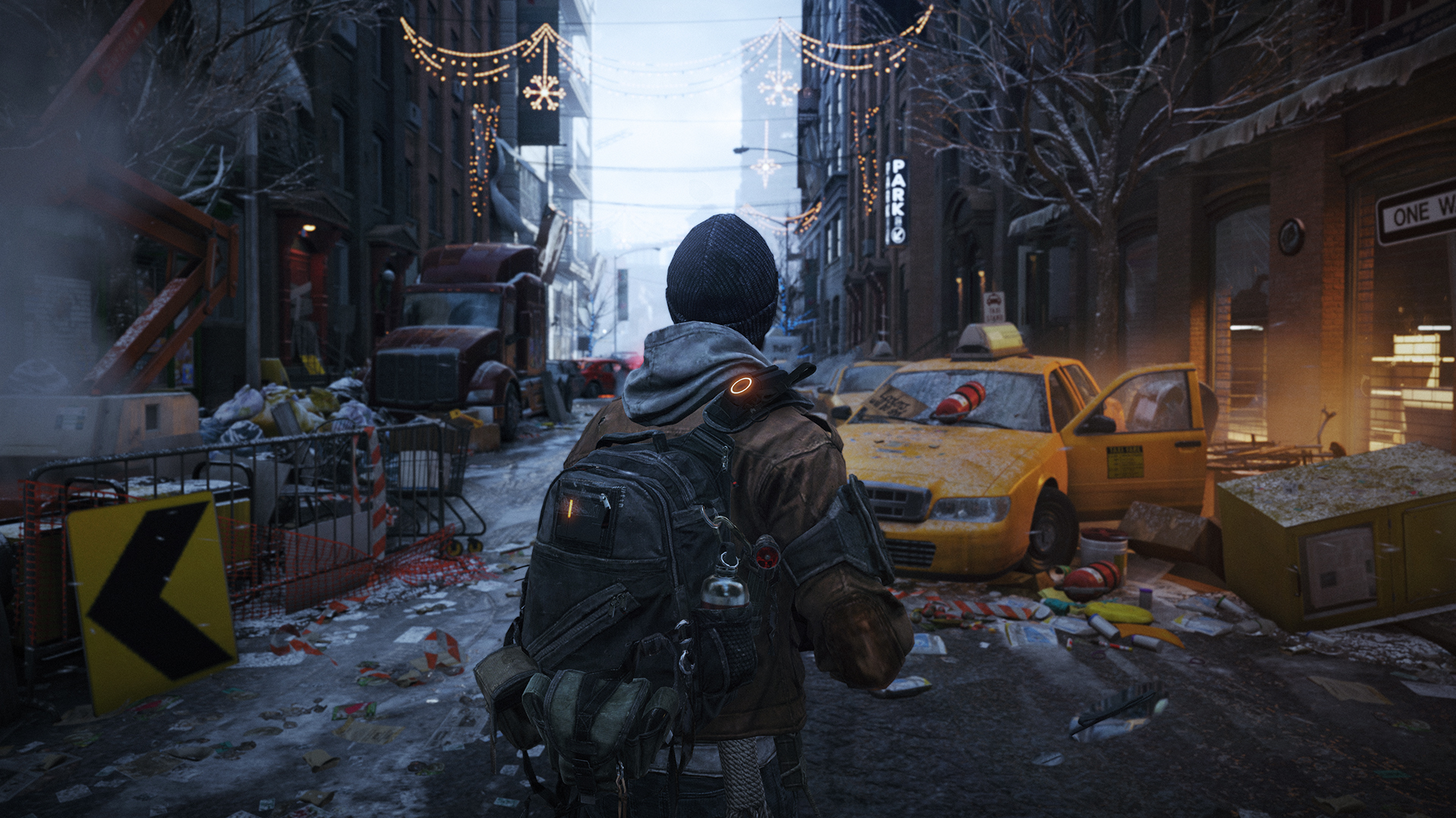 The Division Screenshot Used For Terminator Genisys