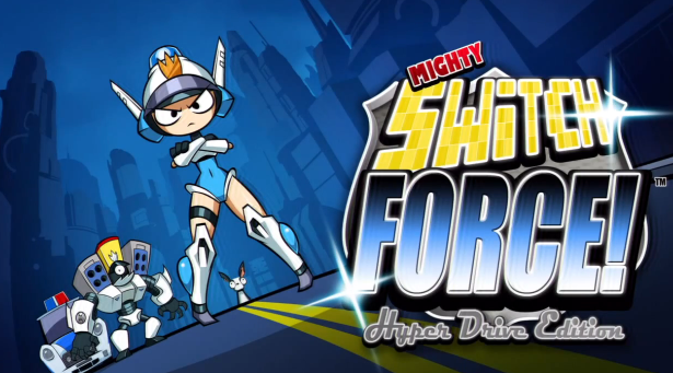 mighty switch force hyper drive edition
