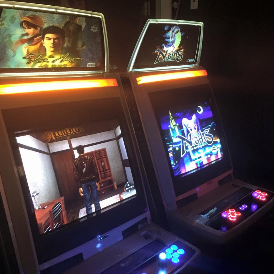 Arcade Unveils Shenmue And Nights Into Dreams Arcade
