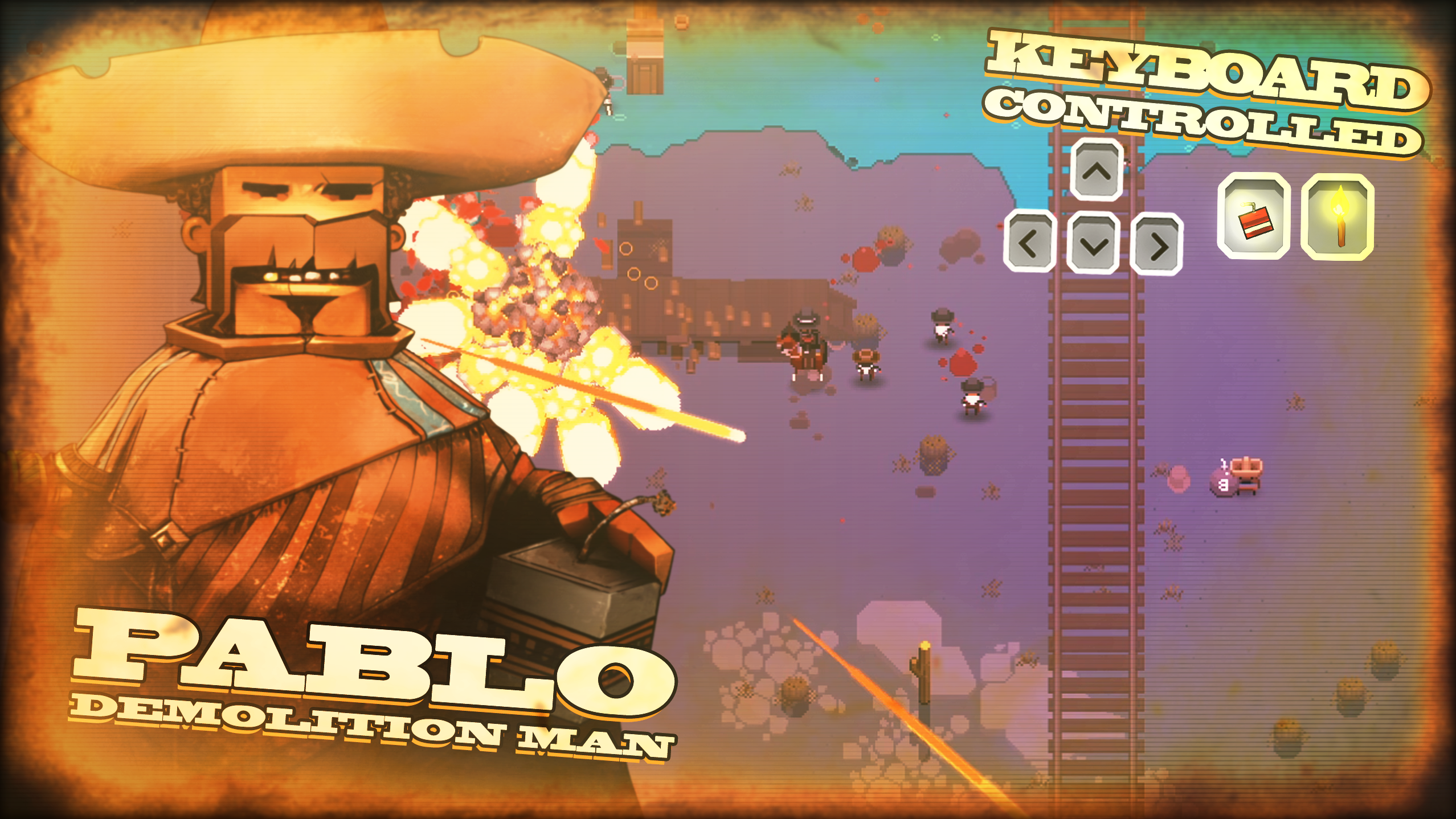 A Fistful of Gun Character - Pablo
