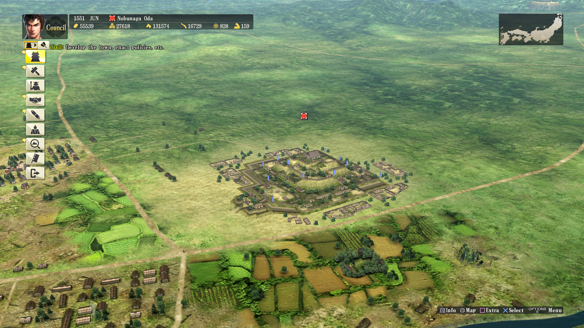 Nobunaga S Ambition Sphere Of Influence Build Castle