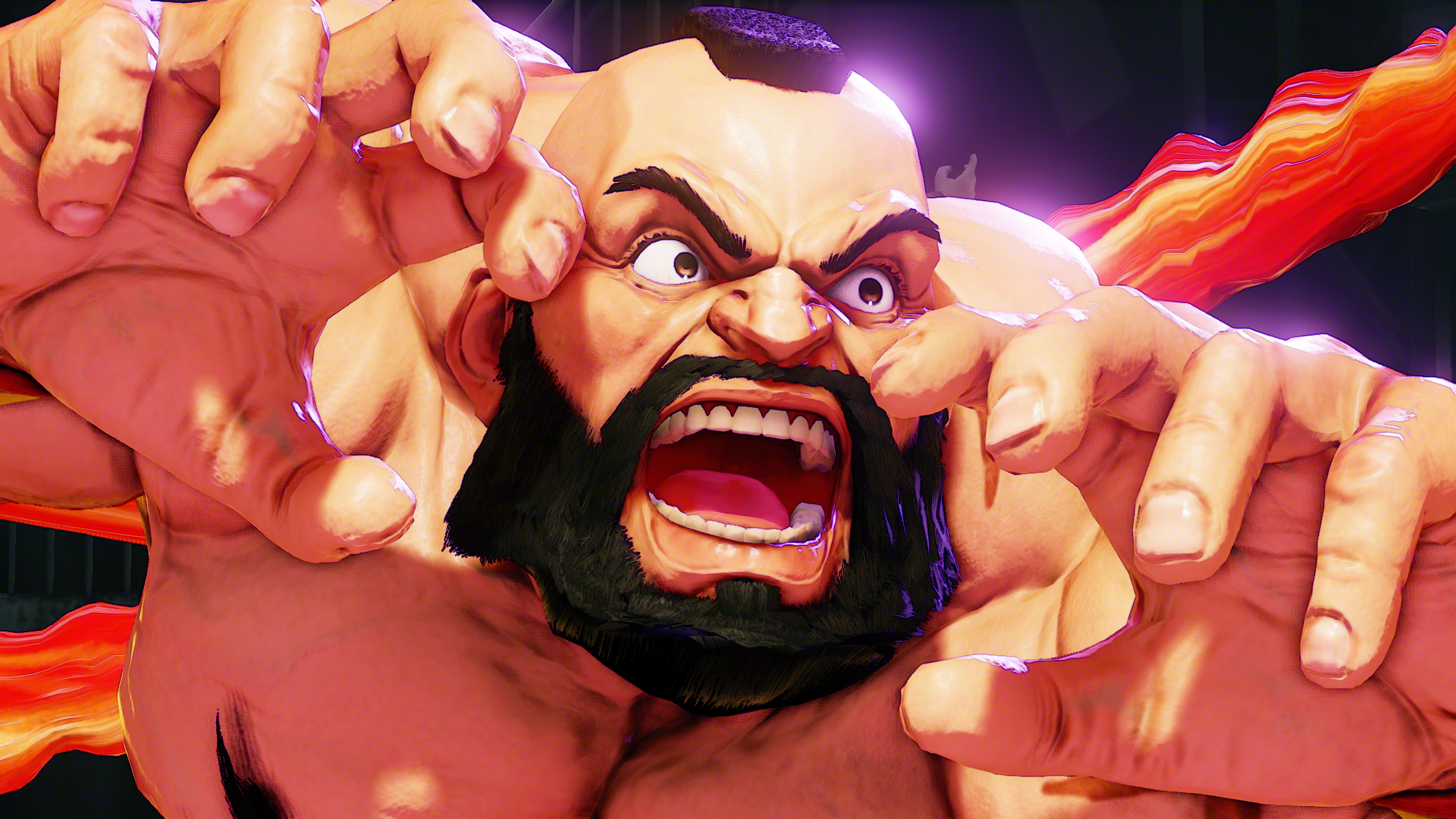 Zangief Returns In Street Fighter V First Screens And Trailer