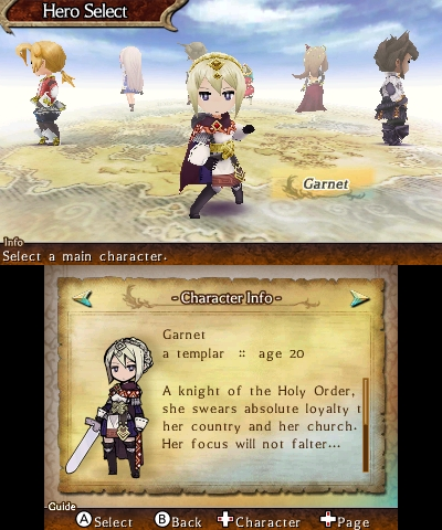 The Legend of Legacy Preview