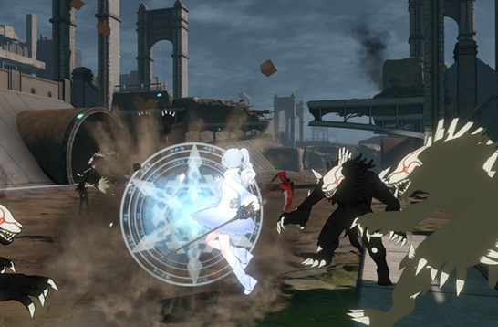 rwby grimm eclipse hits steam greenlight gets new trailer hey