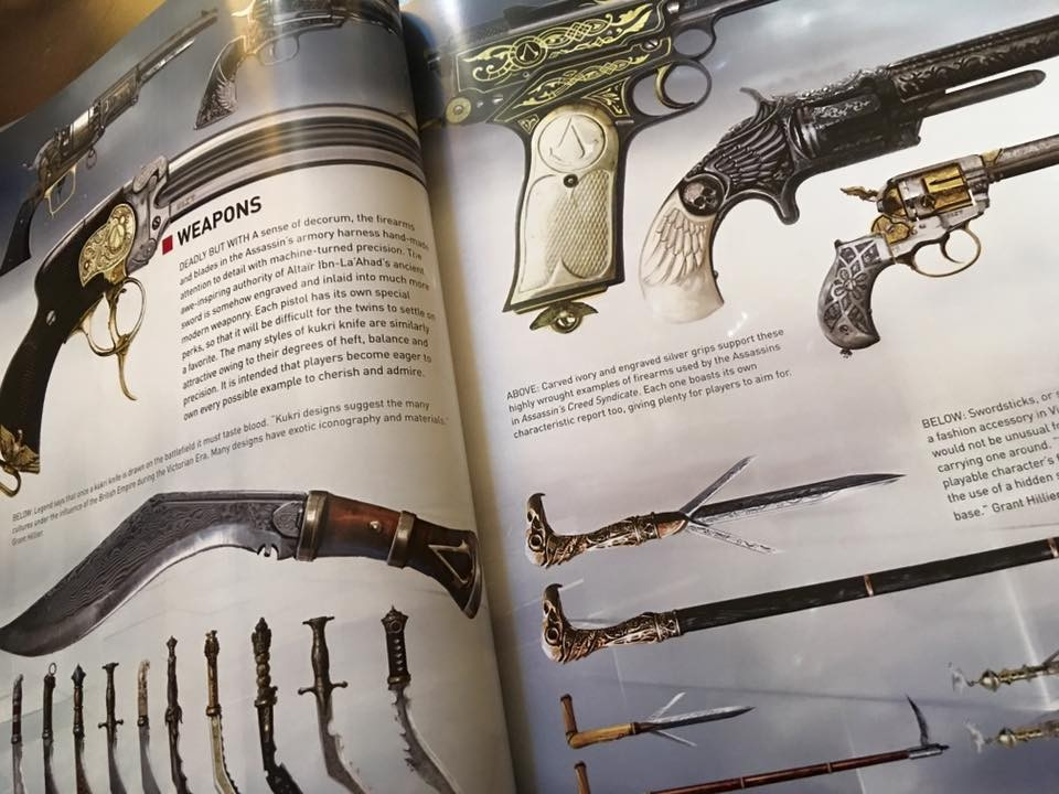 The Art of Assassin's Creed Syndicate Book Review - Hey ...