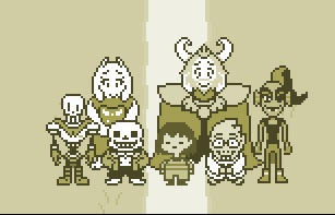 undertale group pic