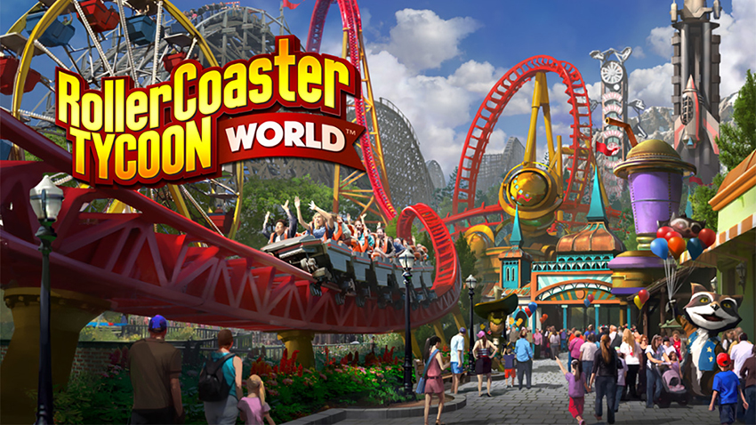 RollerCoaster Tycoon World Coming To Steam Early Access On