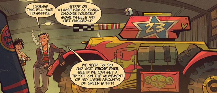 Tank Girl - Two Girls, One Tank - 2