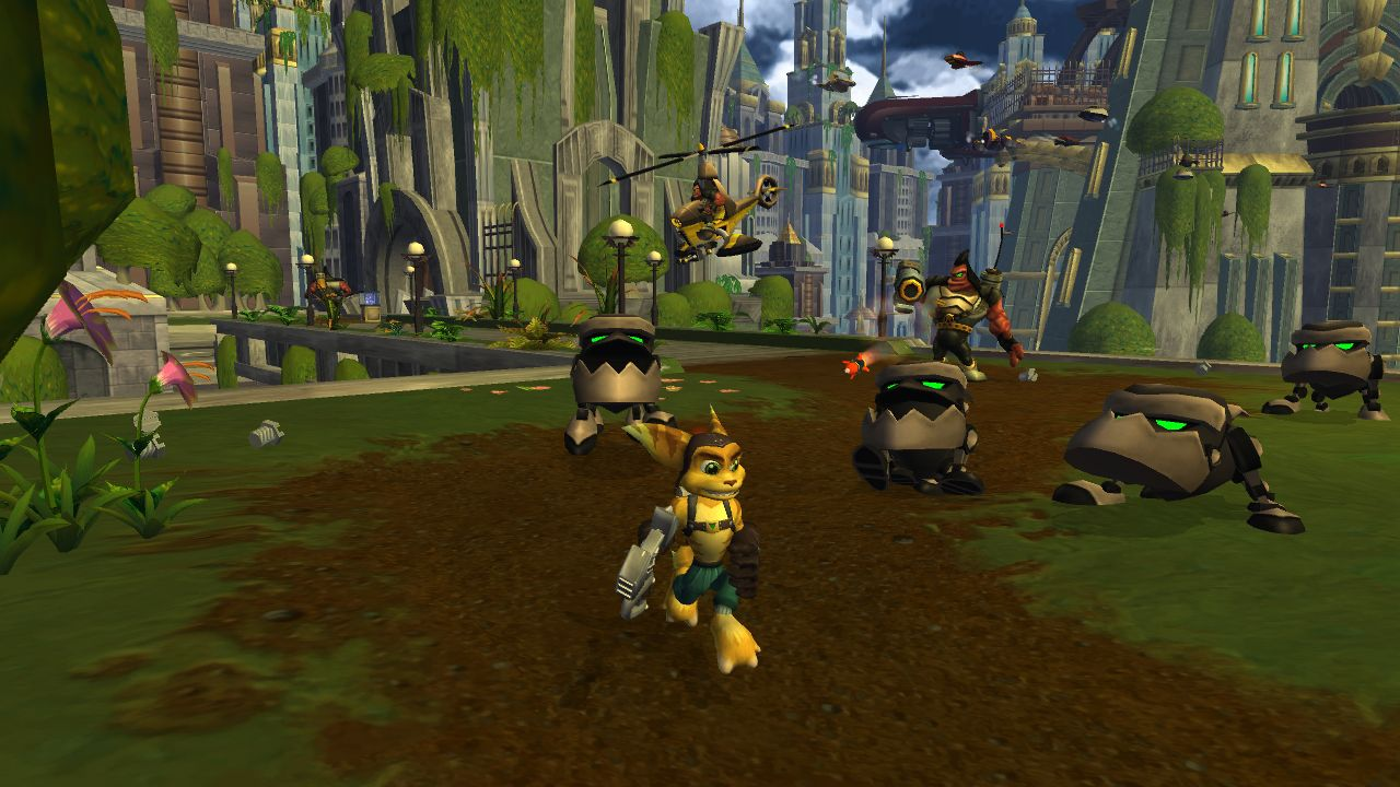 how to play 2 player ratchet and clank
