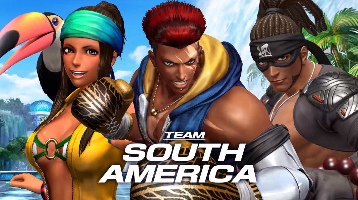 The King Of Fighters Xiv Team South America Trailer Hey Poor Player