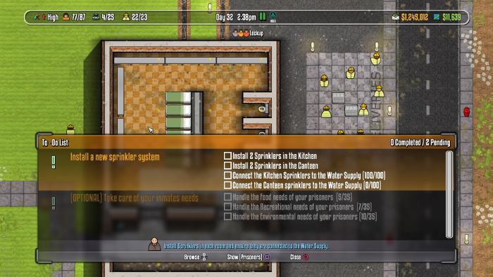 prison architect editor