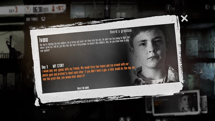 This War Of Mine - The Little Ones DLC 2