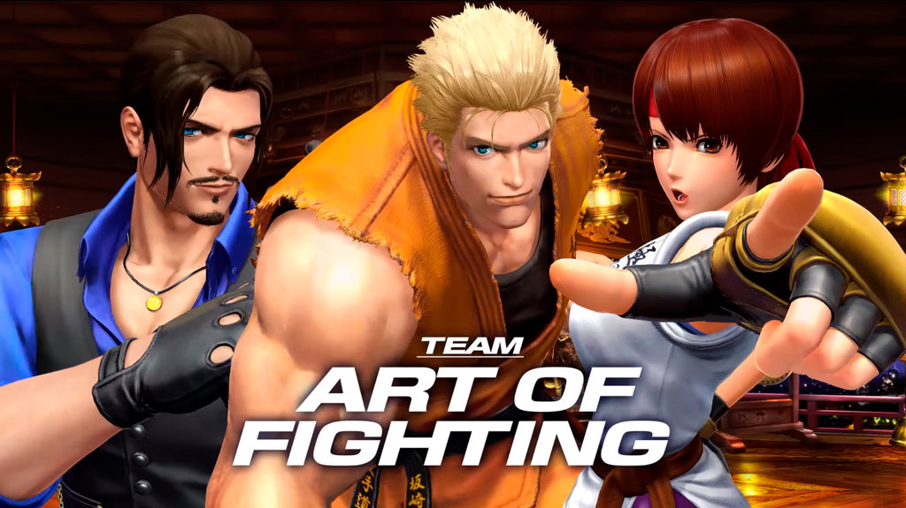 The King Of Fighters Xiv S Art Of Fighting Team Trailer Hey Poor