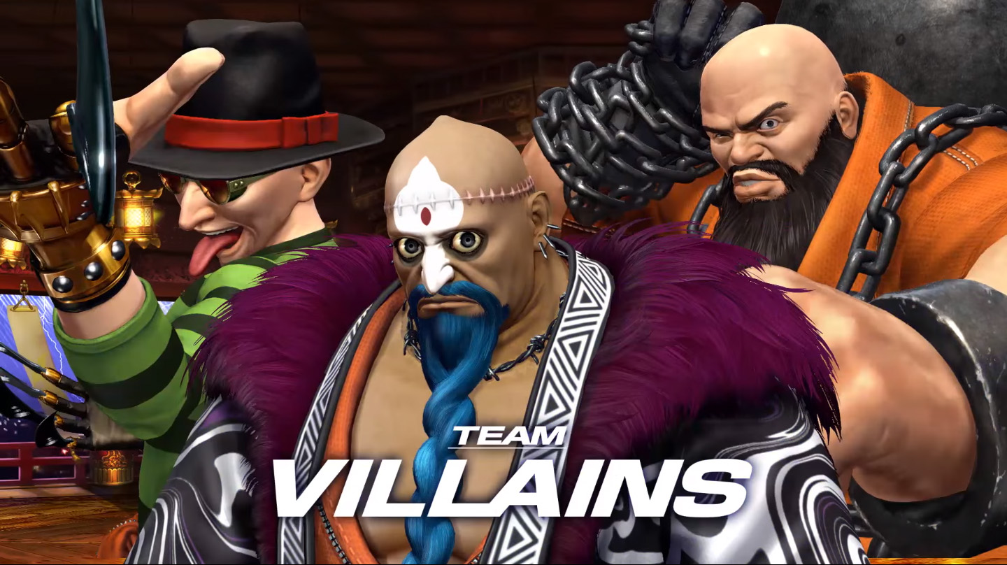 The King Of Fighters Xiv Gets New Team Villains Trailer Hey Poor