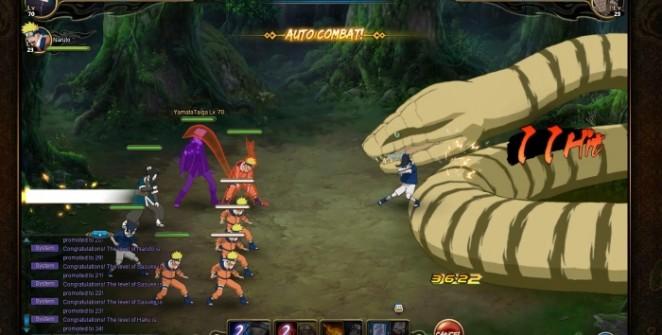 Naruto Online Battle