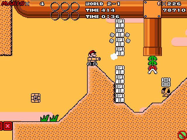 Super Mario Dimensions