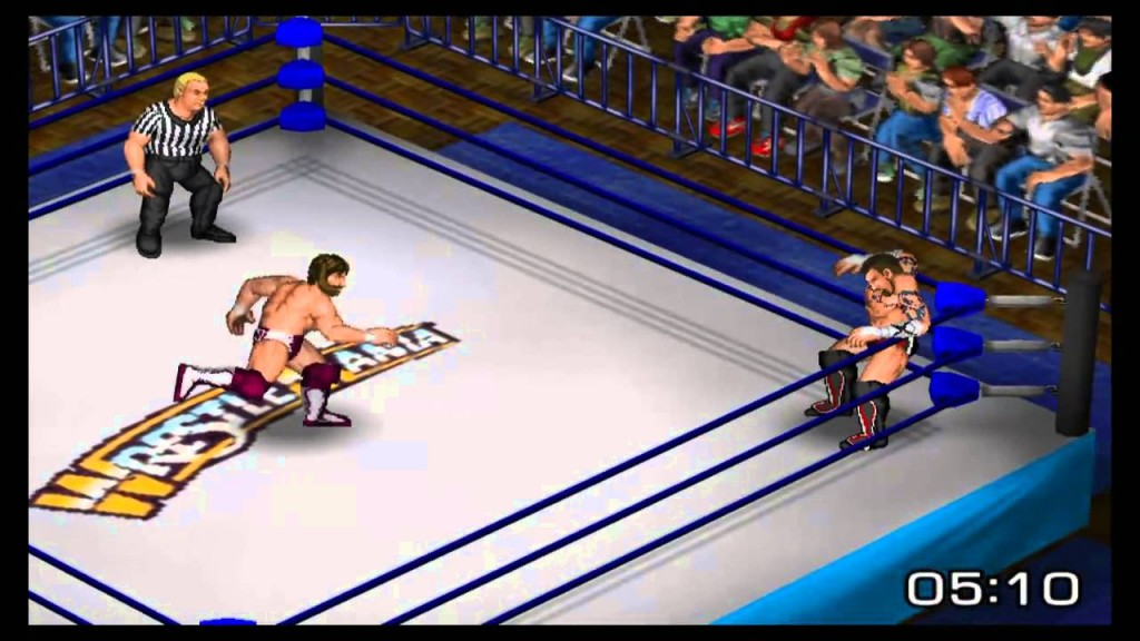 Fire pro gameplay