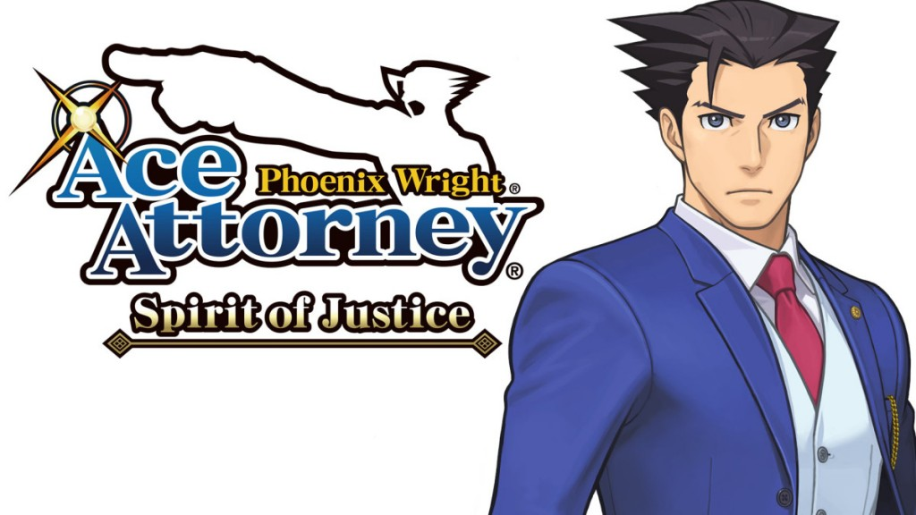 Phoenix Wright: Ace Attorney - Spirit of Justice Cover