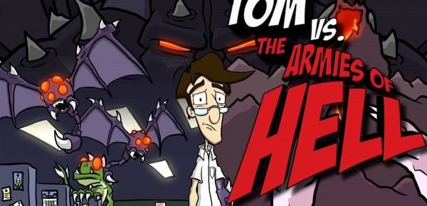 Tom vs The Armies of Hell Cover