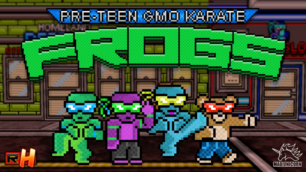 Radical Heroes: Crimson City Crisis - Frogs