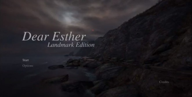 Cover - Dear Esther: Landmark Edition