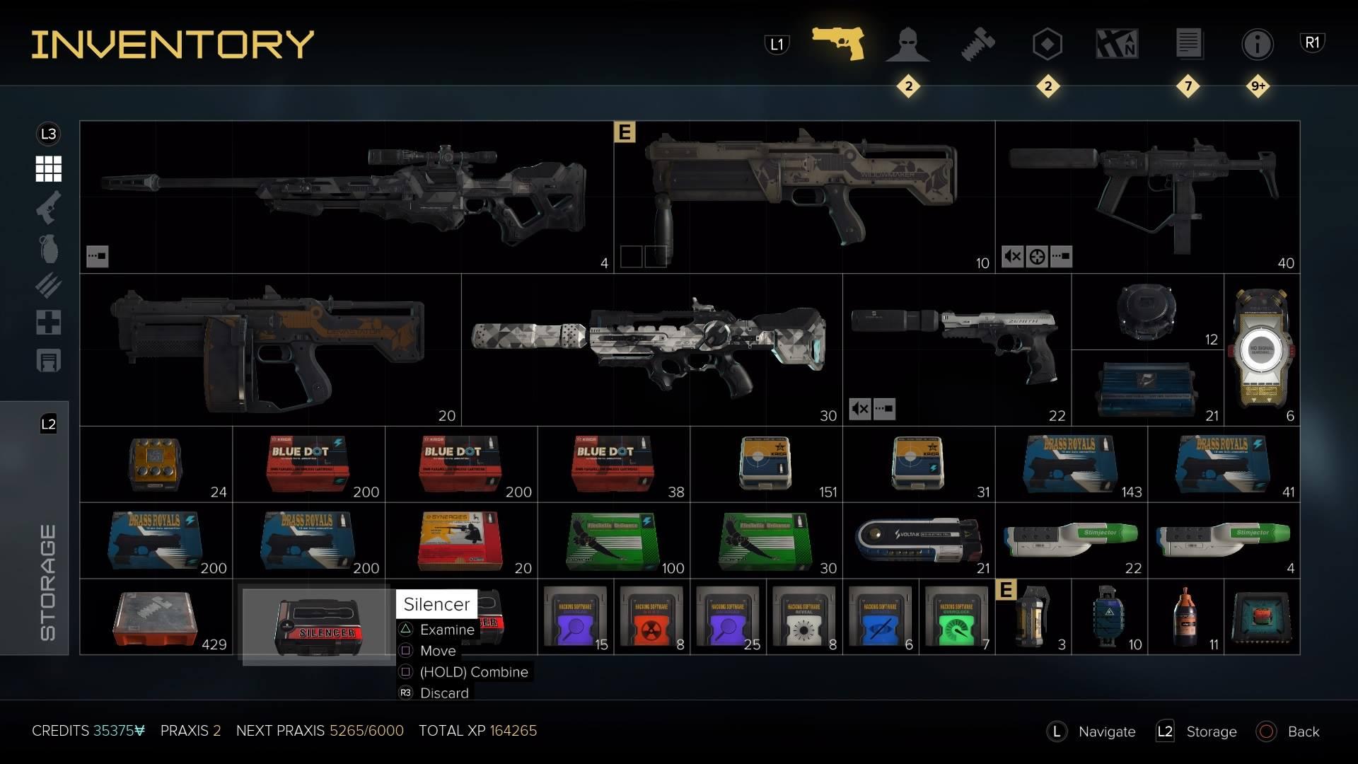 Deus Ex Guns