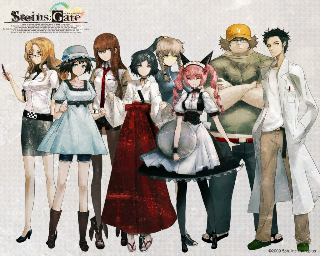 Steins;Gate Review (PC) - Hey Poor Player
