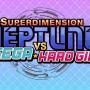 Superdimension Neptune VS Sega Hard Girls Cover
