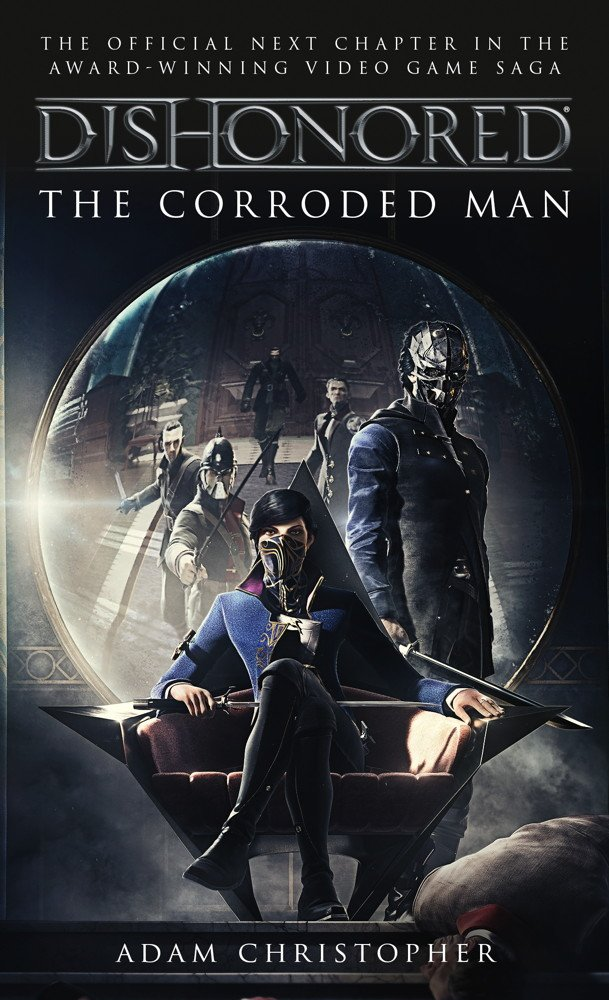 dishonored 2 corroded man cover art