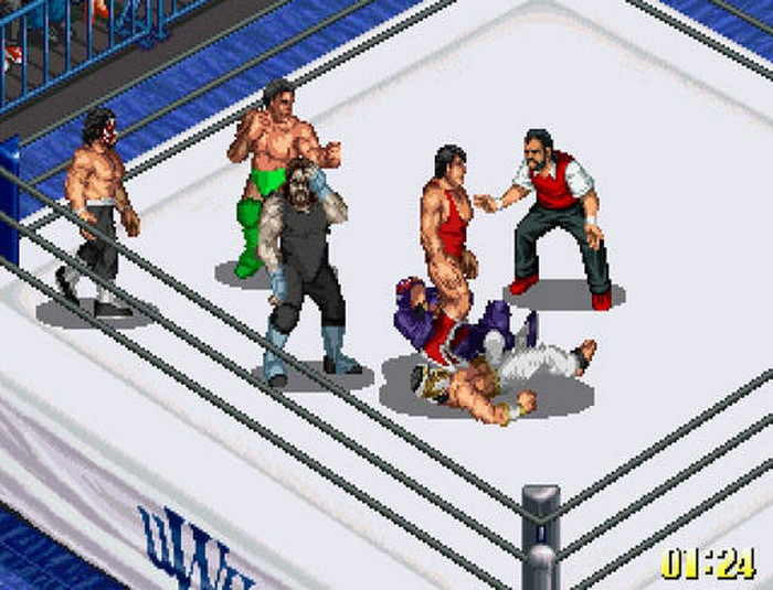 Fire Pro. Wrestling