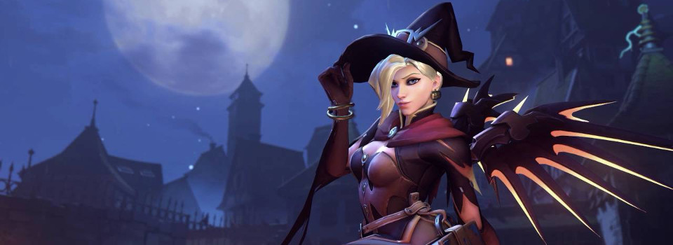 mercy witch - halloween