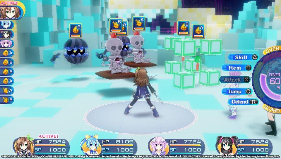 Superdimension Neptune VS Sega Hard Girls 5