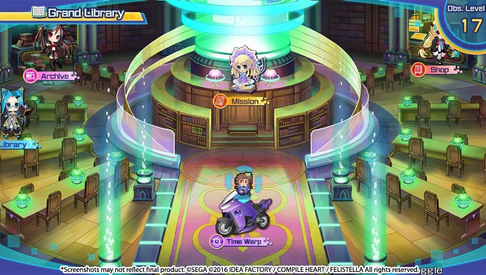 Supedimension Neptune VS Sega Hard Girls 2