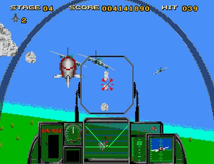 After Burner III Retro Review (Sega Mega CD) - Hey Poor Player