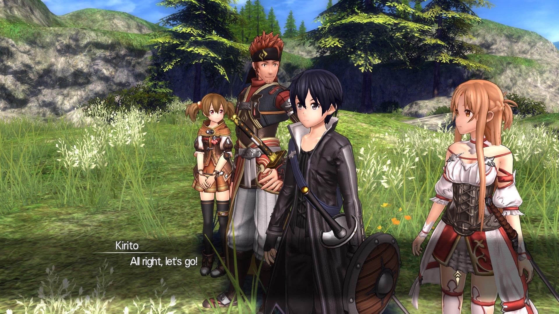 Sword Art Online: Hollow Realization Review (PS4) - Hey Poor
