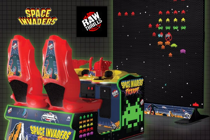 New Space Invaders Arcade Gets Us In A Frenzy! - Hey Poor ...