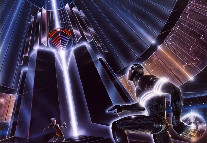 Original Concept Art for Tron